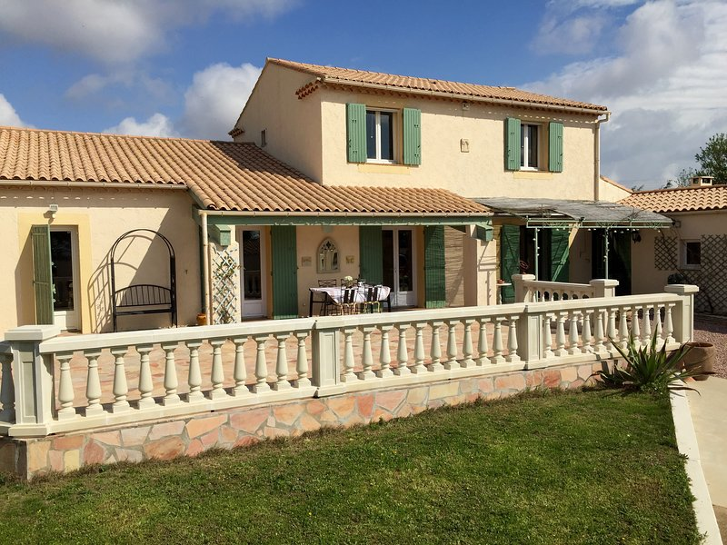 Villa des Oliviers, holiday rental in Pezenas