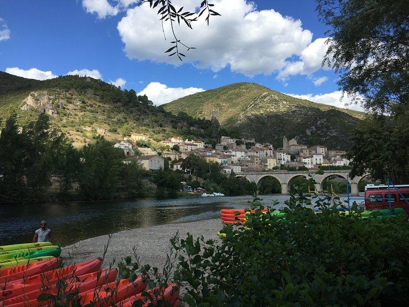 Roquebrun - 30 minuter med bil från villan