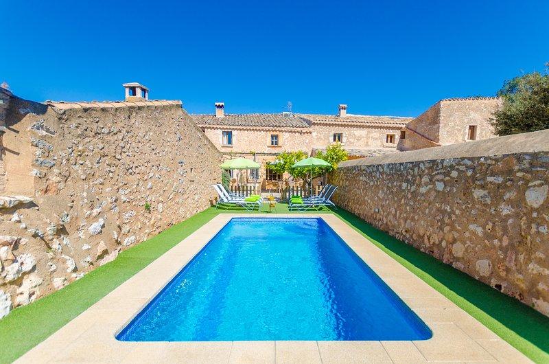 FINCA CAN MARIA COSTITX - Villa for 8 people in Costitx, vacation rental in Costitx