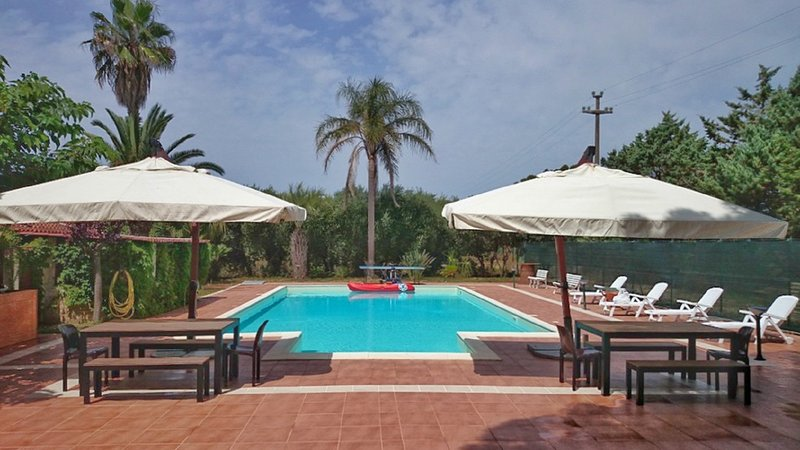 Relais Villa Gandoli, the Ionian Sea, Pool, BBQ, entrance including Lido Beach Gandoli
