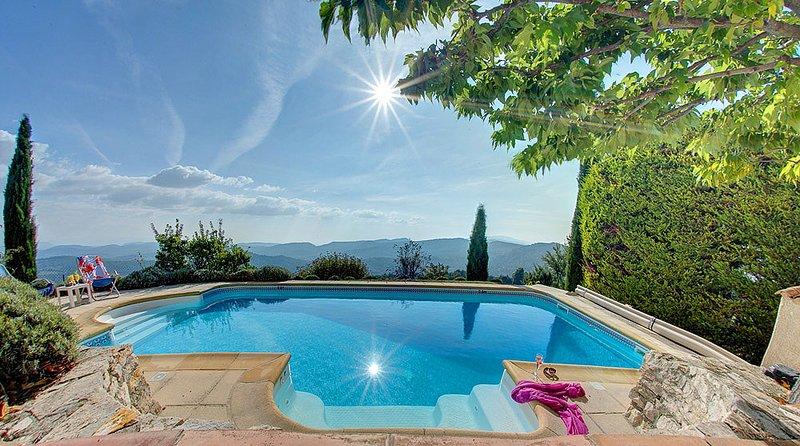 Montfuron Villa Sleeps 6 with Pool and WiFi - 5604771, alquiler vacacional en Montfuron