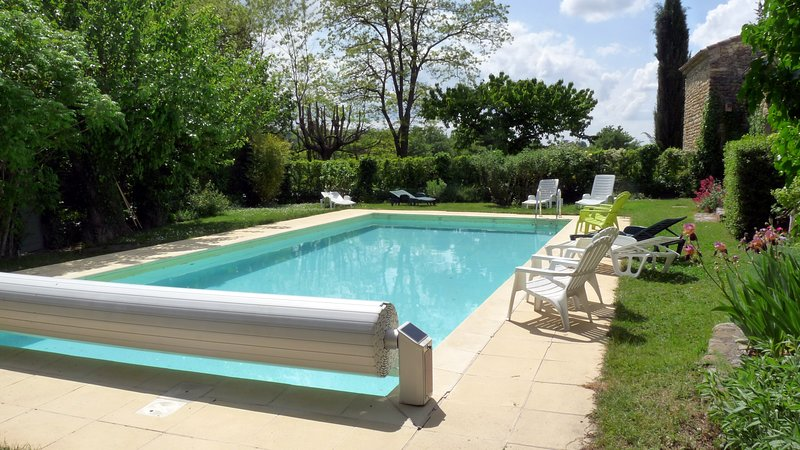 Spacious house with swimming-pool, holiday rental in Villedieu