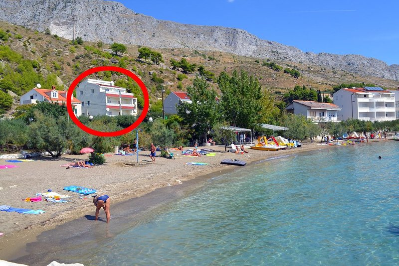 One bedroom apartment Duće, Omiš (A-8378-b), holiday rental in Duce