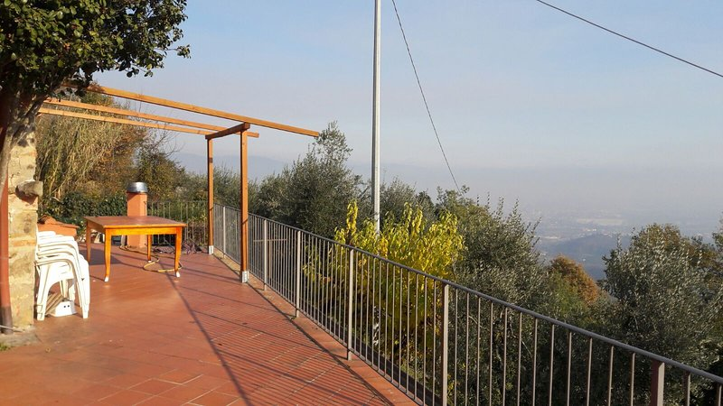 Beautiful house with mountain view, holiday rental in Serravalle Pistoiese
