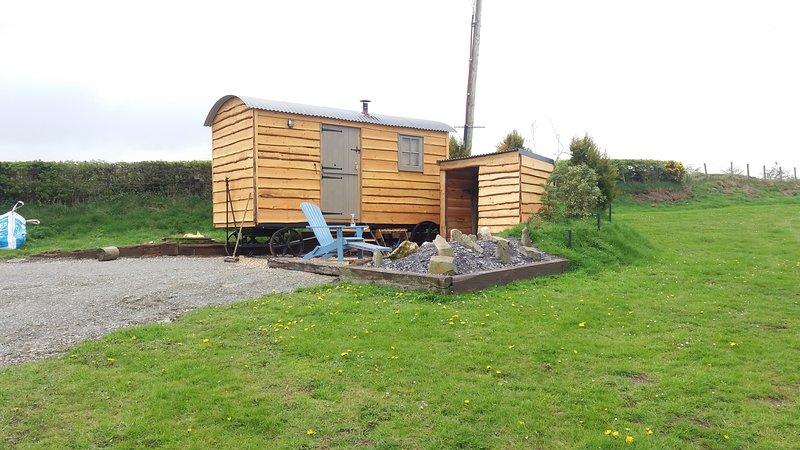 Tyni  shepherds hut, location de vacances à Trofarth