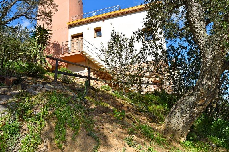 Villa con un design fantastico, spettacolare vista sul mare a Sa Riera. Jacuzzi. SA PUNTA COSTA BRAVA