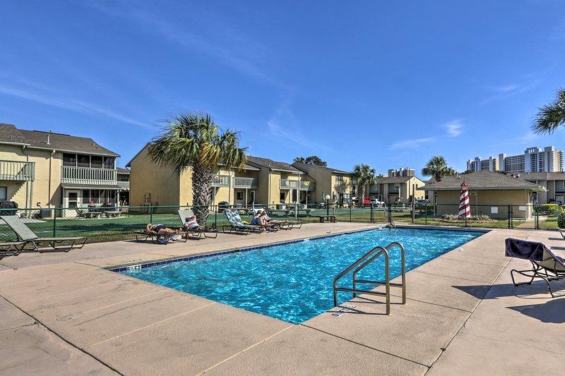 Lounge poolside and soak up the Florida sun!