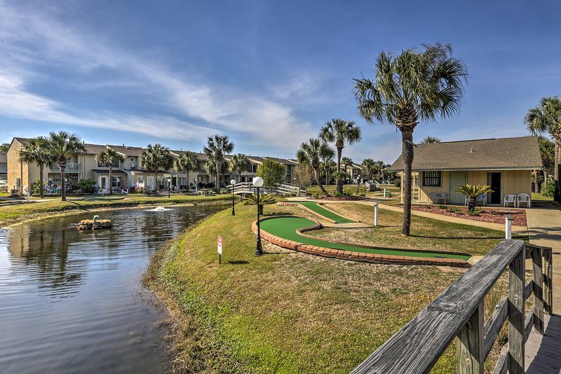 Stay at this vacation rental townhome for your Panama City Beach escape.