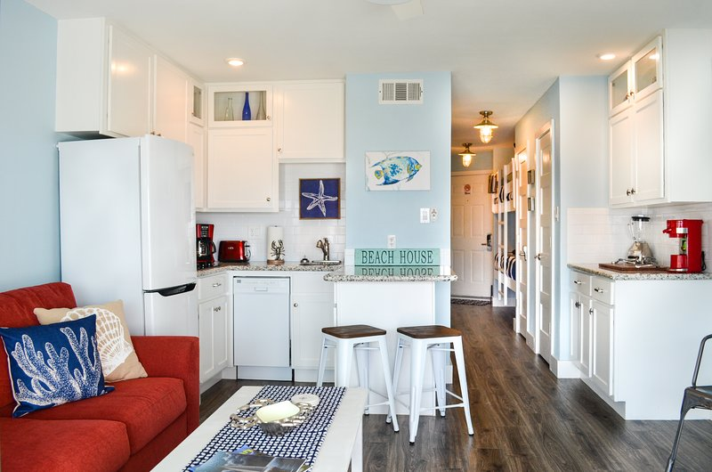 Beautifully renovated condo w/ all the extra perks to be 'A Stay Above the Rest'