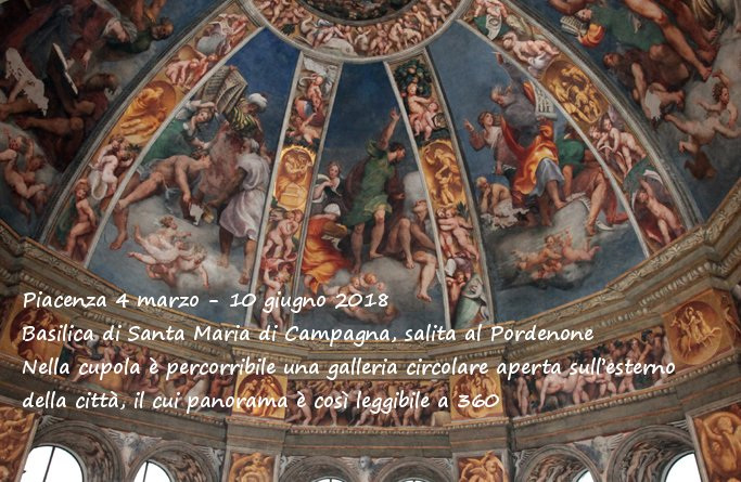En la basílica de Santa Maria di Campagna en Piacenza