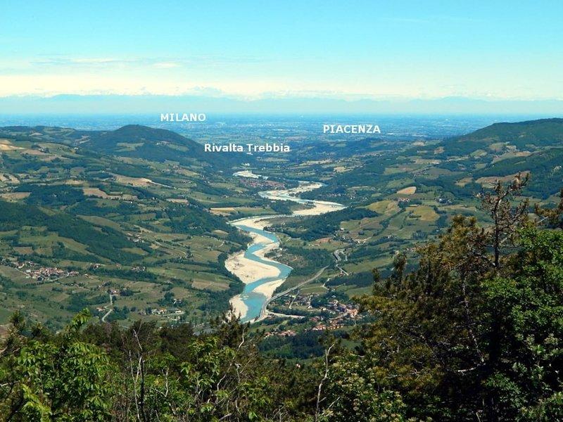 El parque del río Trebbia