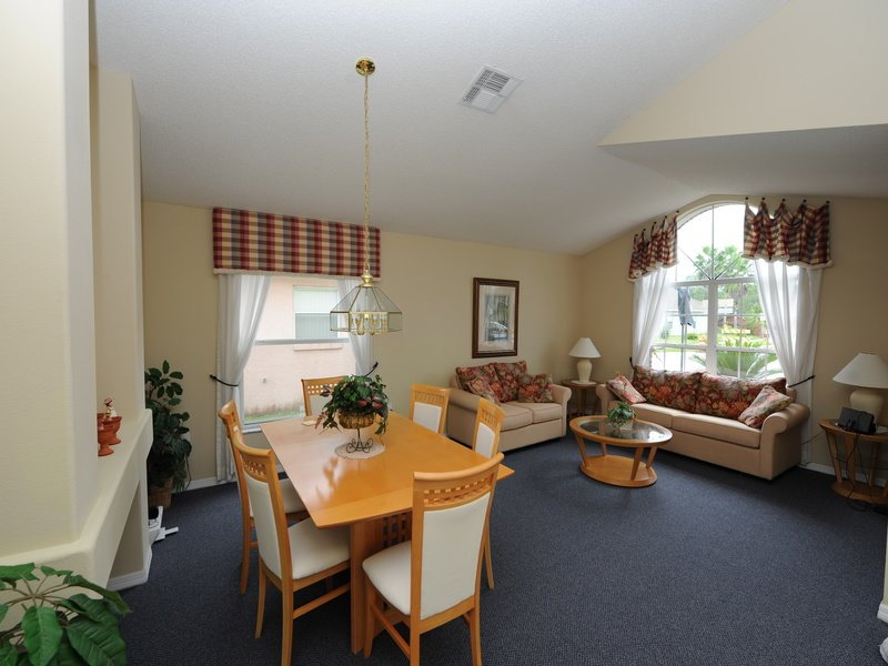 Dining Table and Sitting Room