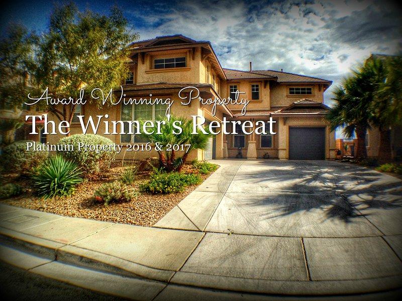 Award winning property, The Winner's Retreat.