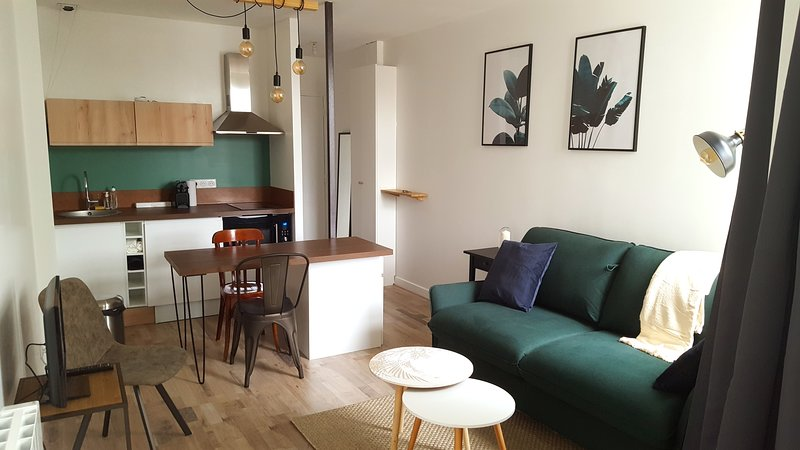 STUDIO ambiance industrielle - 2PERS, vacation rental in Mouvaux