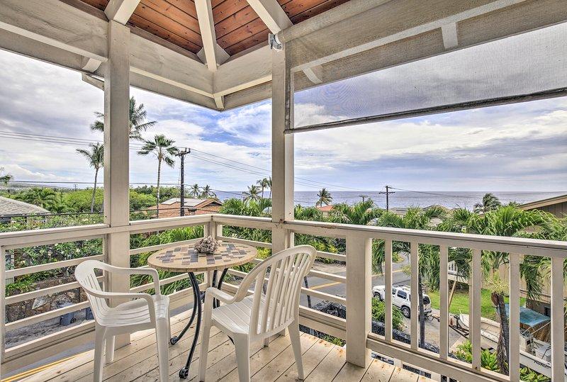 Your island oasis awaits at this Kailua-Kona vacation rental apartment!