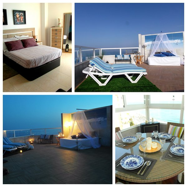 Tus vacaciones soñadas. Ático.Penthouse, vacation rental in Torrox