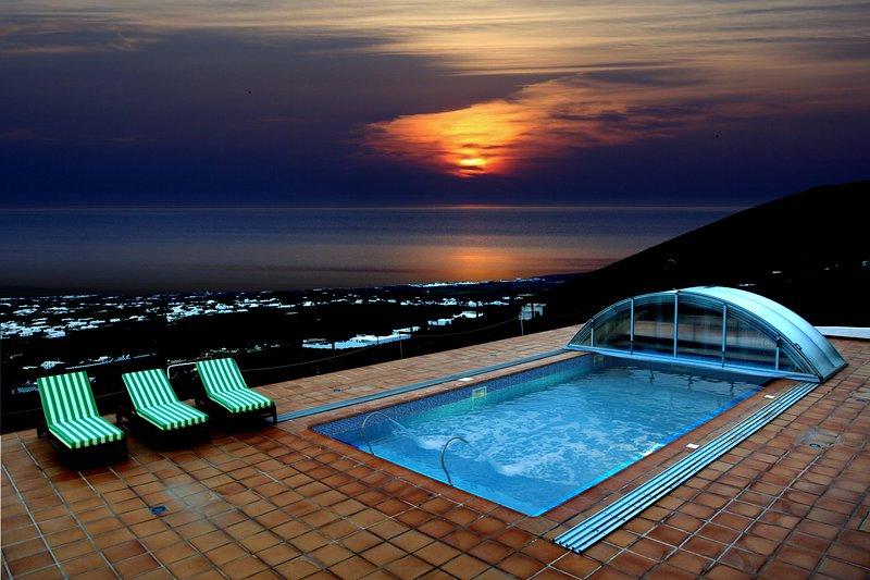 Casa Tinasoria ( Roque del Oeste ) para 3 a 5 personas, holiday rental in La Asomada