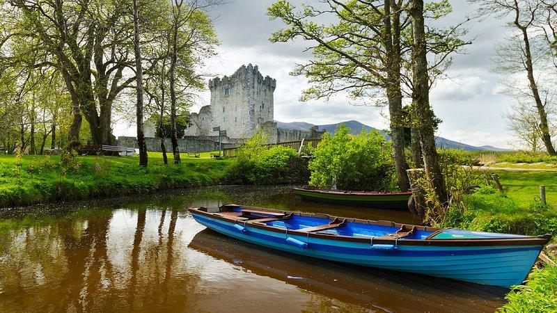 Castillo de Ross - lagos de Killarney