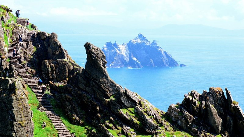 Skellig Michael - World Heritage, Star Wars Wild Atlantic Way -Ring of Kerry
