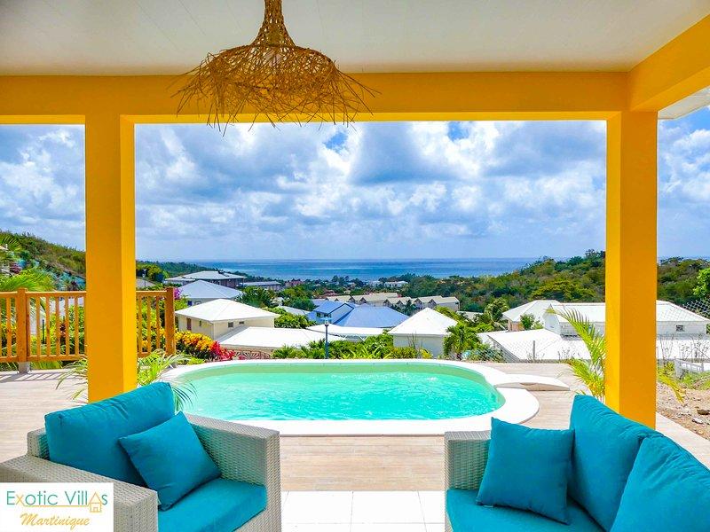 Villa Ananas, location de vacances à Le Diamant