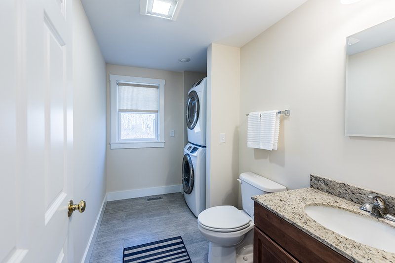 Powder Room, Laundry area 1st Level