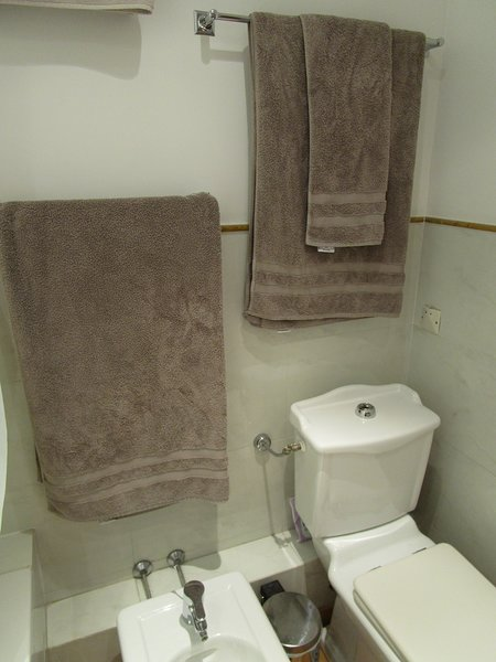2nd bathroom with shower enclosure