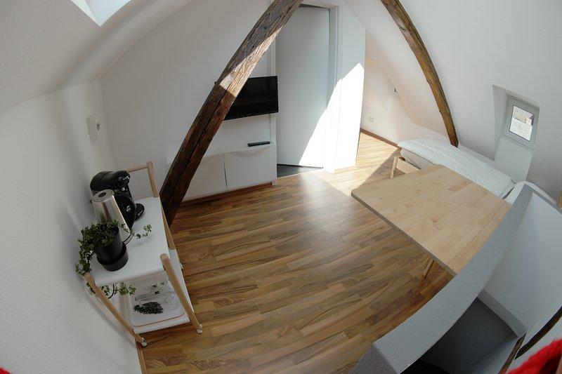 schöne mitten im Zentrum gelegene Mietwohnung 5 OG , centrally located apartment, location de vacances à Coblence