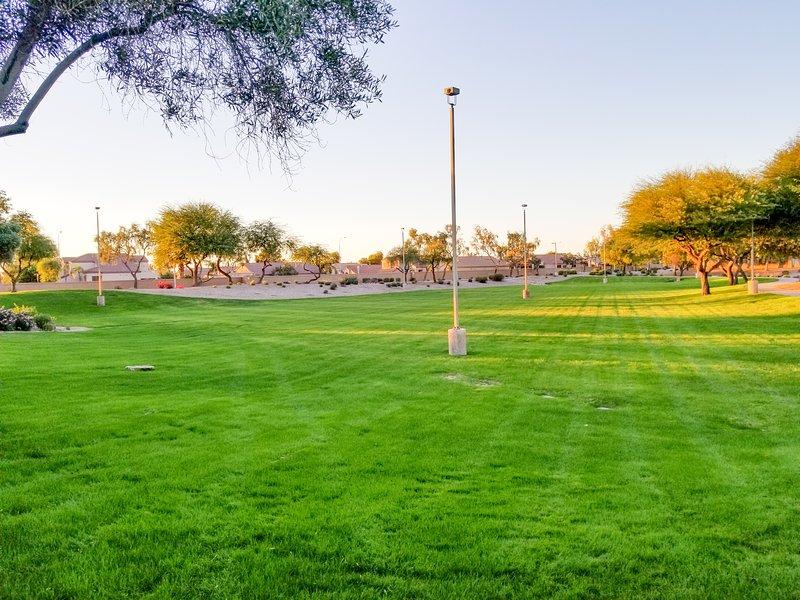 Profitez des grands espaces verts et des parcs de la communauté.