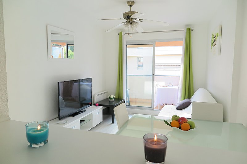 Agréable F2 avec garage proche Cannes et plages, holiday rental in Golfe-Juan Vallauris