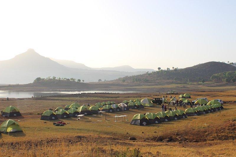 Paradise Camping (Tent 3), casa vacanza a Pune