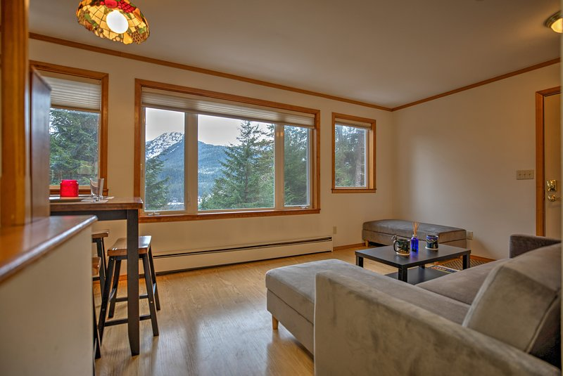 Alaska's capital city welcomes you to this cozy vacation rental apartment!
