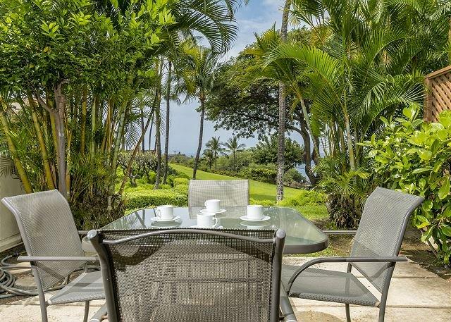 Beautiful Ocean View from the lanai of Maui Kamaole #G-101