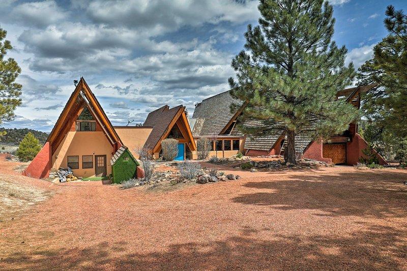 Dieses Haus ist ideal gelegen zwischen Bryce Canyon und Zion Nationalparks gelegen.