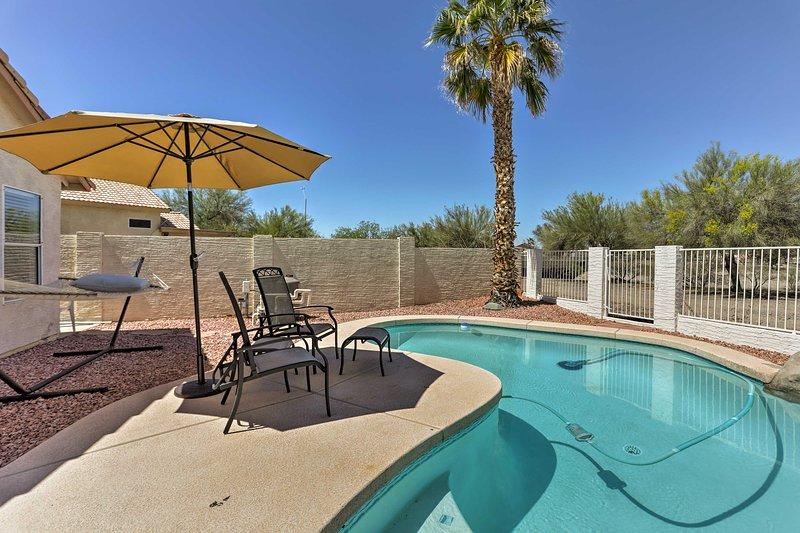 Plan your Phoenix-area getaway to this 3-bedroom, 2.5-bath vacation rental home!