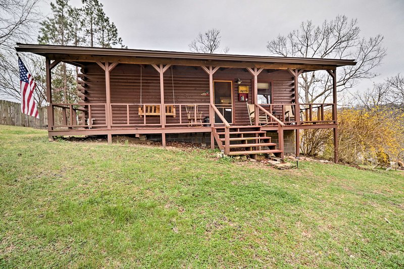 Plan your next outdoor escape to this 1-bedroom 1-bath vacation rental cabin!