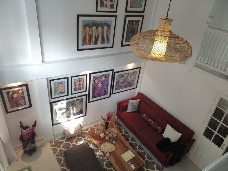 2 bed rooms private villa at Baan suan residence – semesterbostad i Ban Tha Kradat