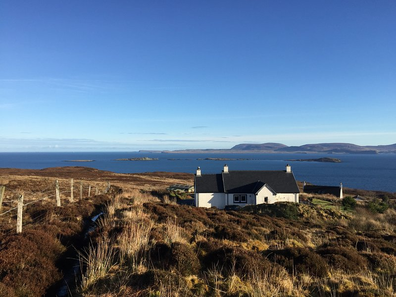 Creagach Cottage - in the township of Geary - set in 1 acre of gardens with amazing loch views