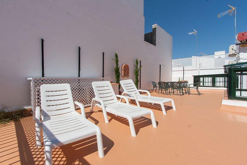 Casa de Tintes Duplex Terrace 12 pax, holiday rental in Arahal