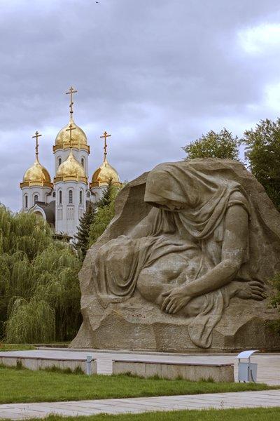 monumento Mamaev Kurgan