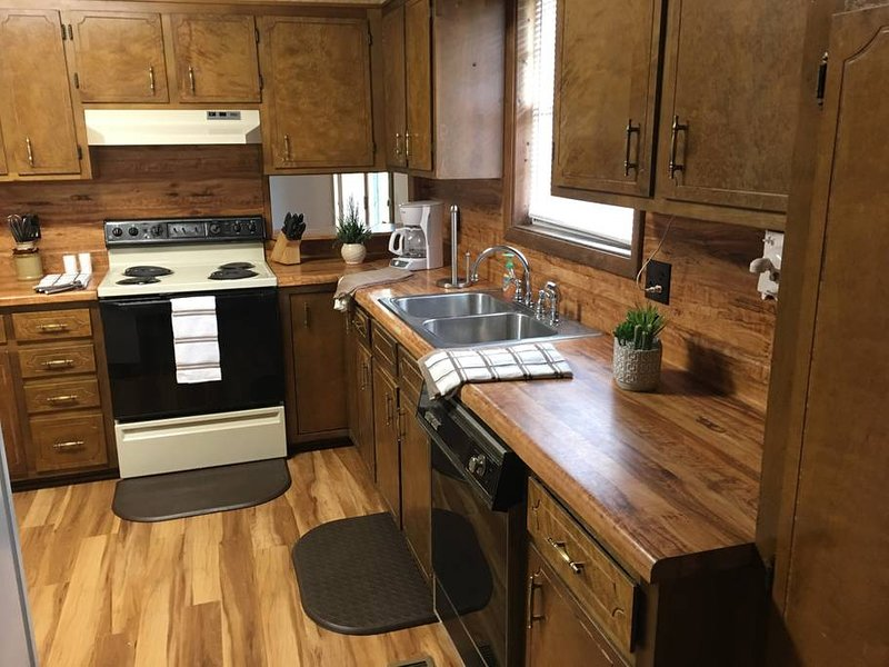 Fully accessorized kitchen