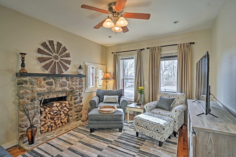 Experience 'Pure Michigan' during your stay at this vacation rental home!