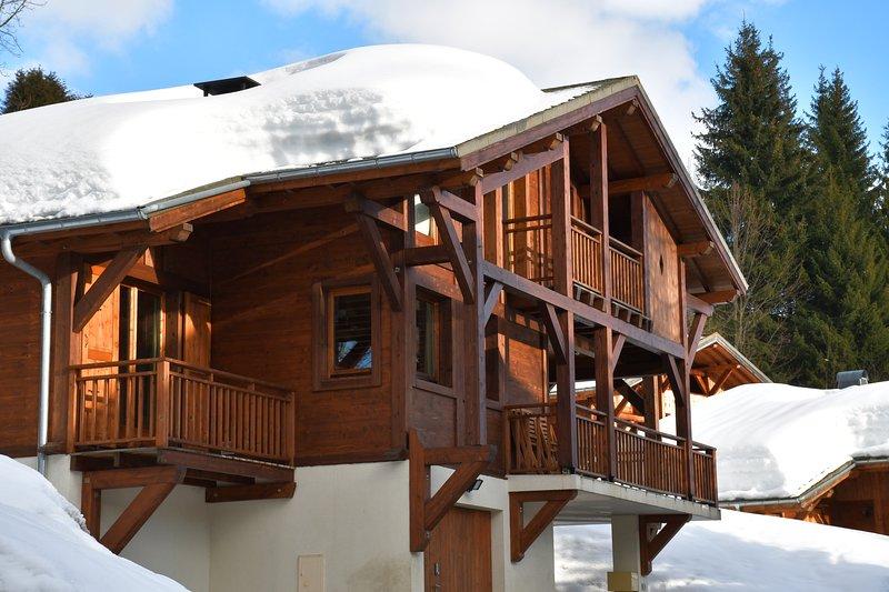 Chalet Orlando è uno chalet molto amato famiglia nella suggestiva località alpina di Les Gets.
