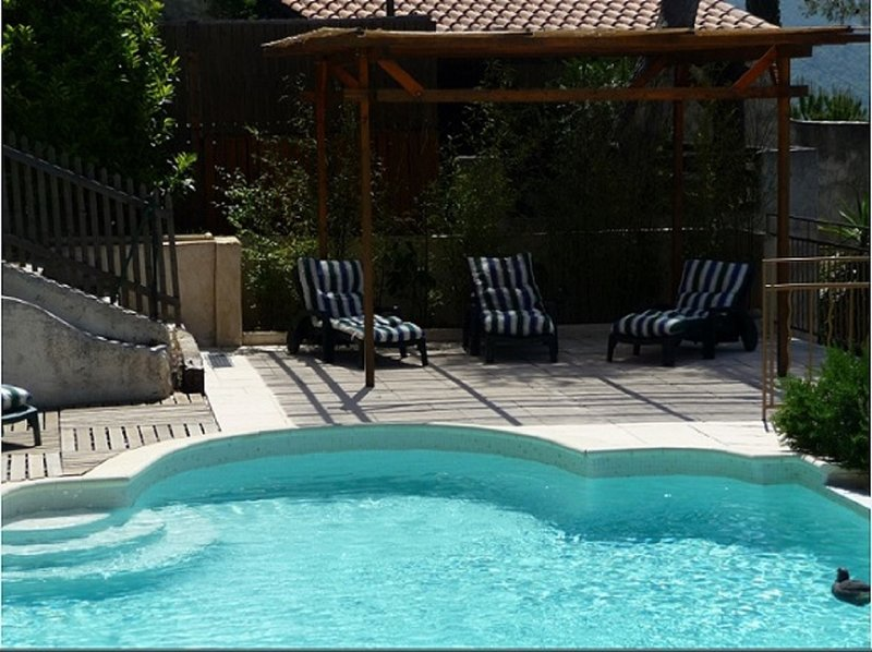 Amazing villa with swimming-pool, holiday rental in Utelle