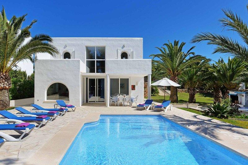 Casa Blanca, holiday rental in Cala Mondrago