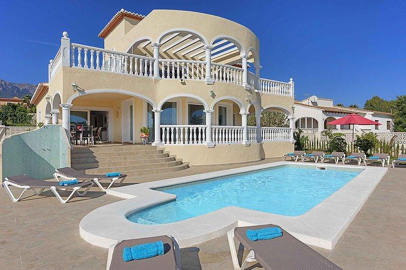 Villa Amancay, holiday rental in Calpe