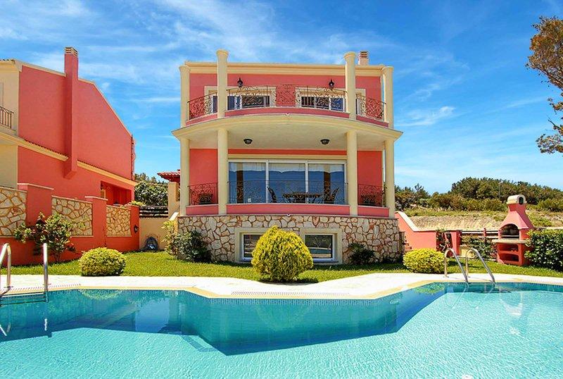 Villa Romanza Alpha, location de vacances à Avliotes