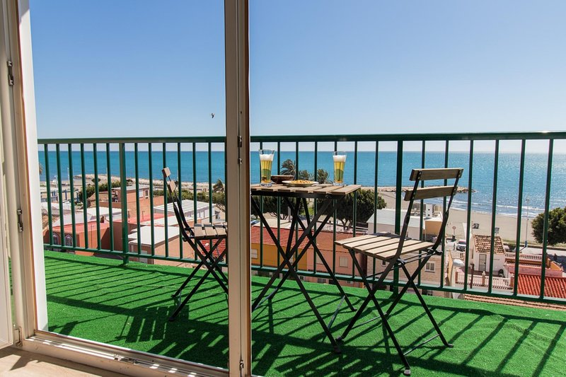 Sea View Sunny Duplex (C31), holiday rental in Pedregalejo
