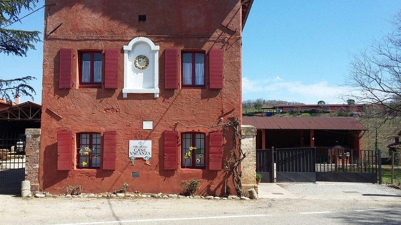 Ancienne façade des locations de vacances