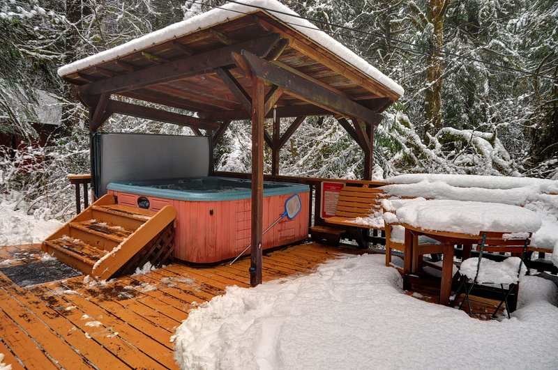 Henry Creek Cabin-Hot Tub