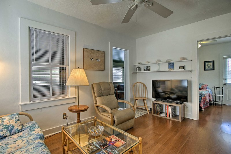 Book your Florida trip to this charming 1-bedroom, 1-bath vacation rental home!